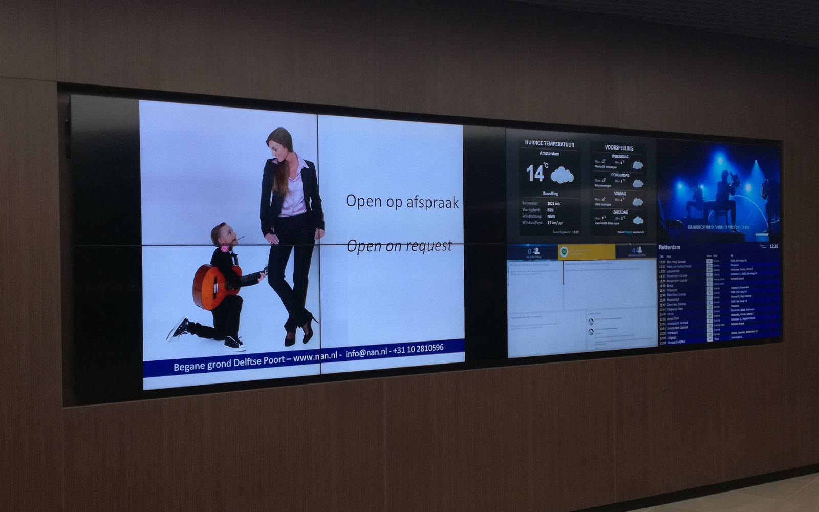 videowall - cleverdisplay - narrowcasting
